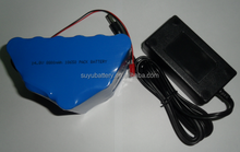 14.8v 8800mah icr18650 li ion battery pack with charger
