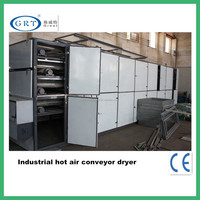 Low consumption the baking equipment for tobacco/tunnel belt hot air dryer