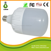 high luminous Cool White AC85-265V 50W 60W 80W E27 Led Big T shaped Bulb Light