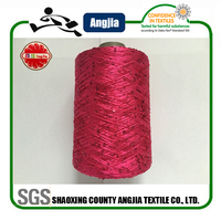 sequin crochet yarn for long knitted sweater women cardigan