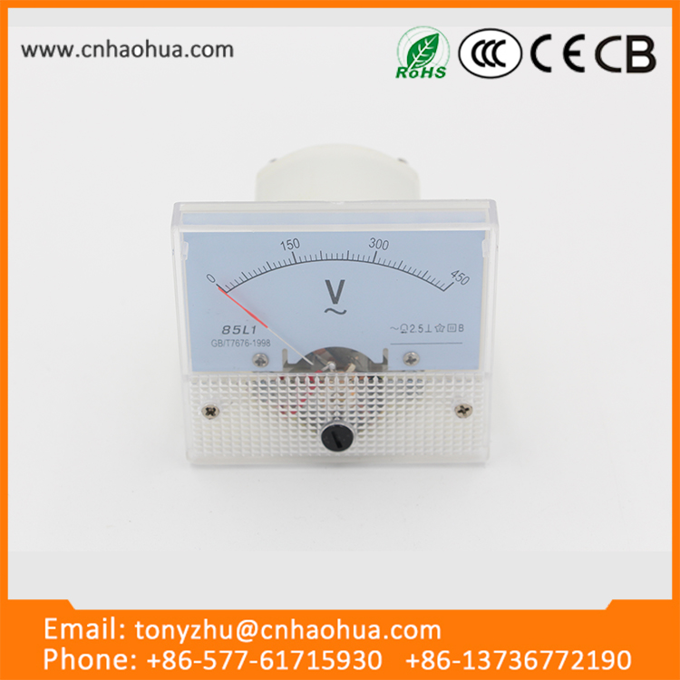 85L1 series buy wholesale direct from china 0-300v ac small digital voltmeter
