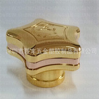 custom Aluminum zinc alloy die casting bottle cap , perfume bottle cap