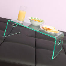 Acrylic Laptop Bed Tray, Lucite Tray Table with Handles