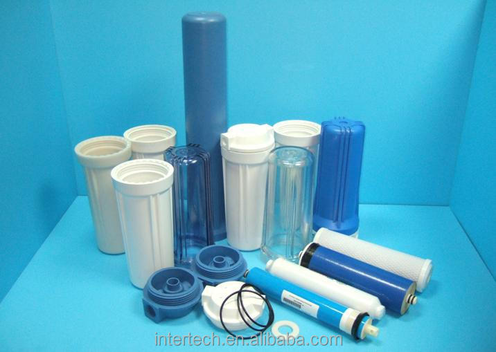Industrial plastic water filter housing mold
