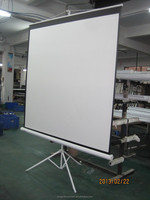"popular tripod projector screen with size from 150"" format ratio 4:3"