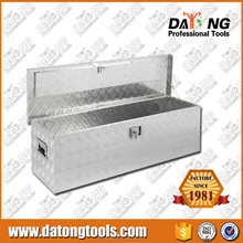 49' Aluminum Truck Tool Box Underbody Trailer Storage With Lock