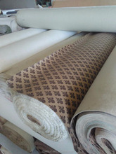 Printed Fabric of PVC Artificial Leather Stock Lot , A Grade Pvc Synthetic Leather for Bags and Sofa