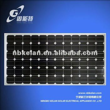 120W Monocrystalline Silicon Solar panel, mini PV panel solar cell 5w 10w 20w 80w 100w