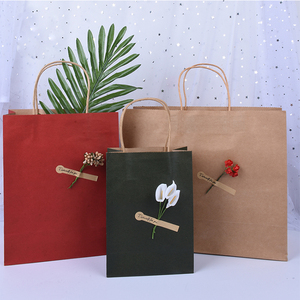 New year Christmas Thank you Birthday Paper Gift Bag