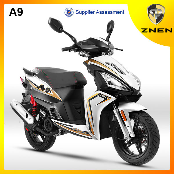 Taizhou ZNEN 50cc Euro IVscooter, EPA DOT electric motorcycle for sale sport two storke and four storke