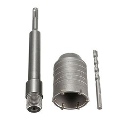 Tungsten carbide tip 65mm SDS Plus Shank wall Hole Saw Cutter Concrete Stone Wall Drill Bit
