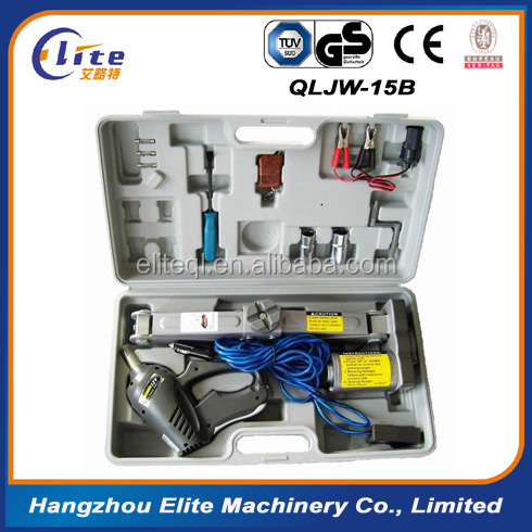 12V Car electric hydraulic jack largest top-heavy 2500KG Min/Max height: 175/405MM NE435 ,Reasonable freight