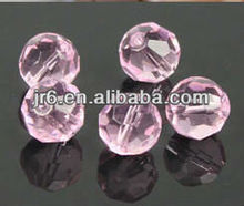 2012 New Arrival Pink Octagonal Micro Glass Bead for Clothes Decor