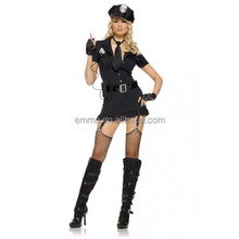 Sexy Women Role Play Naughty Girl Halloween police Costume BWG17526