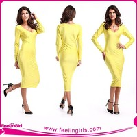 Wholesale Elegant Bright Yellow PVC Chaps Catsuit Faux Leather