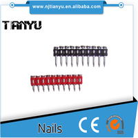 Gas palstic collated concrete nail pin