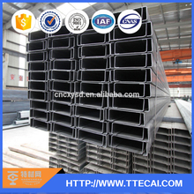 Structural hot rolled channel steel