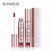 Semi Matte Liquid Lipstick Guangzhou O.TWO.O Cosmetics Kiss Proof