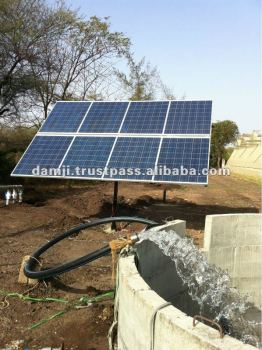 manufacturers and exporter of solar submersible water pumping system