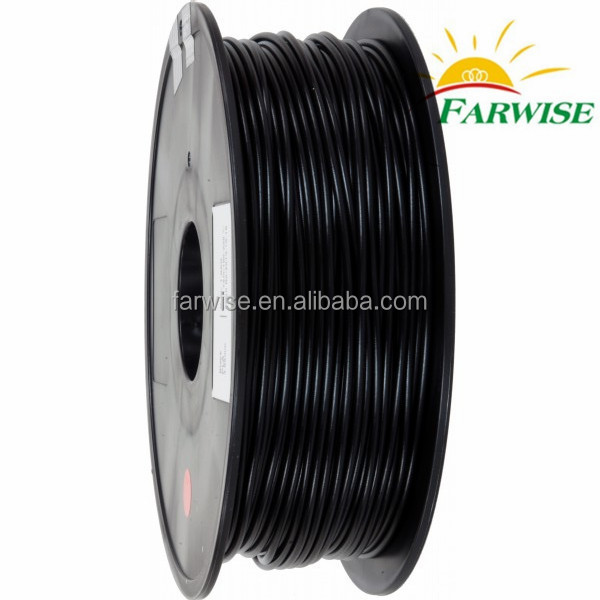 Black PLA 3D Printer Consumable 3mm Manufacturers