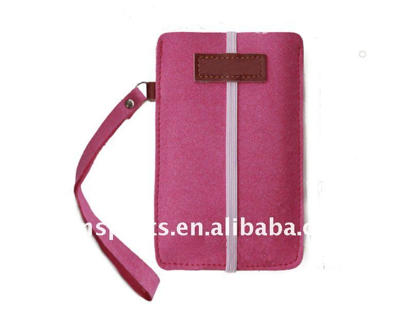 leather phone bag for iphone4