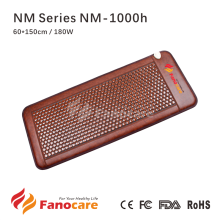 NM Series NM-1000h Fanocare korea Maifan stone acupressure mat tourmaline far infrared heating pad cushion bed massager mattress