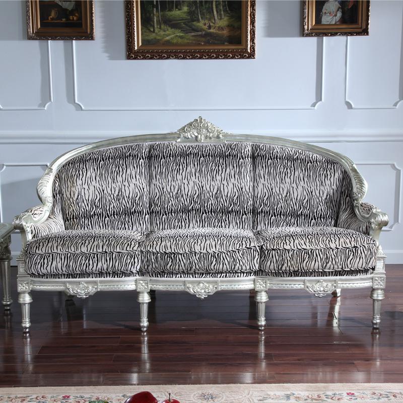 Muebles de alta gama de estilo europeo clásico de la hoja de oro del dorado m...