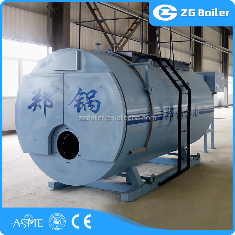 Low energy cost creosote oil oil gas steam boiler