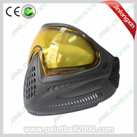 Paintball Face Mask with Yellow Dye I4 Lens