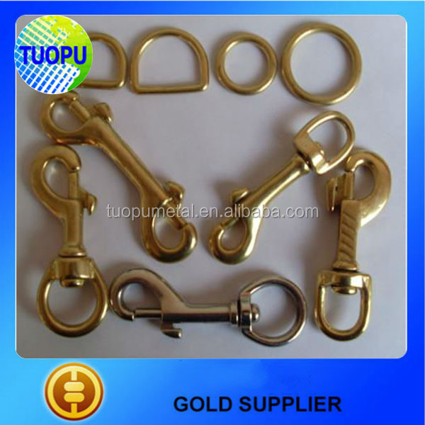 China solid brass trigger swivel bolt snap hook for sale