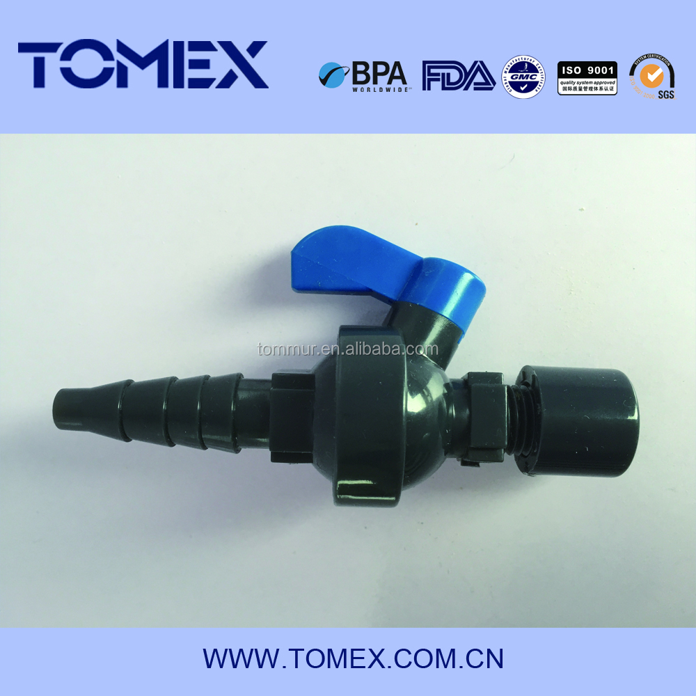 25mm plastic UPVC plastic sanitary sample valve water sampling valves