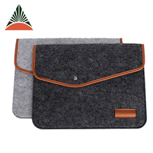 Factory OEM High Quality Fashion Felt Laptop Bag For 15 Inch
