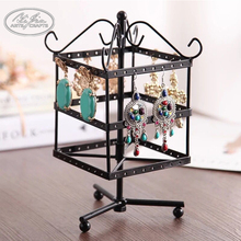 2018 fashion customized christmas rotating earrings display stand