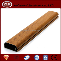 hot sale kitchen cabinet aluminium profile for decoration