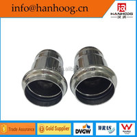 Tools for press fittings ASTM large stainless steel pipe end cap