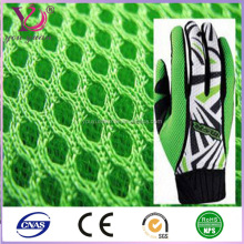 warp knitted polyester mesh boxing glove fabric