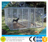 outdoor metal galvanized kennel dog house