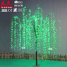 Big size chiristmas decoration willow tree with led light