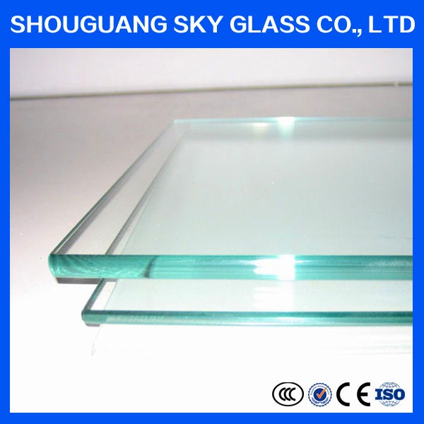 3mm cutting size clear plain glass with good price