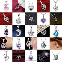 Multi Style 925 Sterling Silver Pendant