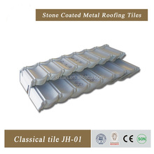Building material Corrugated Galvanized Metal Roof tile (JH-008)