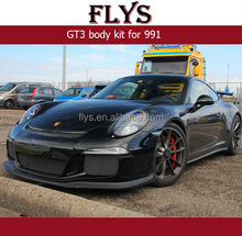 2012-2016 911 body kit GT3 body kit for 991 carbon fiber front lip and rear diffuser