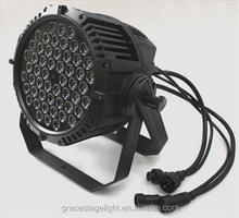 China guangzhou hotsale LED flat par 64 can waterproof, LED 5in1 led par light
