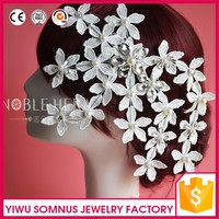 Noble and elegant hair clip lace flower bridal korean hair accessories