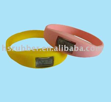 iron silicone watch