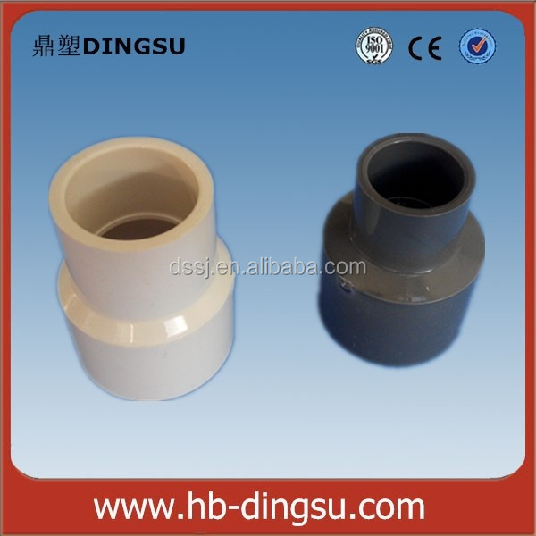 Large Diameter Colored PVC Fittings PVC Reducing Coupling