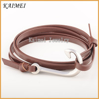 Fashion Jewelry New Product 316L Stainless Steel Wholesale Fish Hook Bracelet For Men