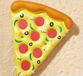 2018 pvc inflatable pizza float toy swimming pool float inflatable pizza slice for adult
