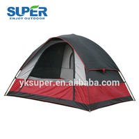 5 Persons Cheap Aluminum Outdoor Waterproof Custom Family Camping Tent