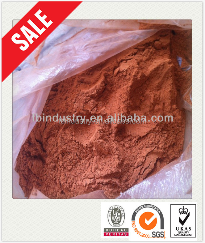 Factory Price fine powdered iron oxide red/yellow/black/brown color enhanced mulch pigments